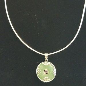 Jewelry - 925 Jade Necklace